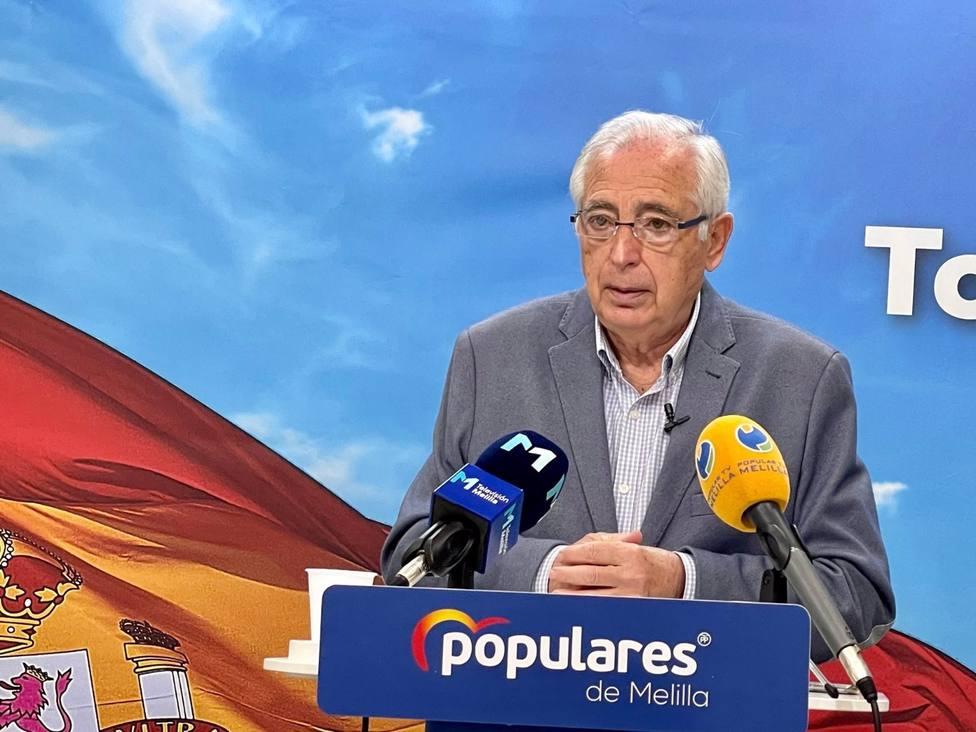 El PP de Melilla pide cumplir el pacto antitransfuguismo y que el presidente de Castro dimita