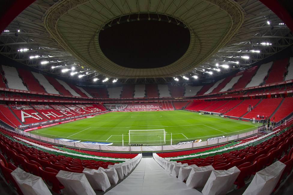 Spanish La Liga soccer match Athletic Club Bilbao vs Villarreal