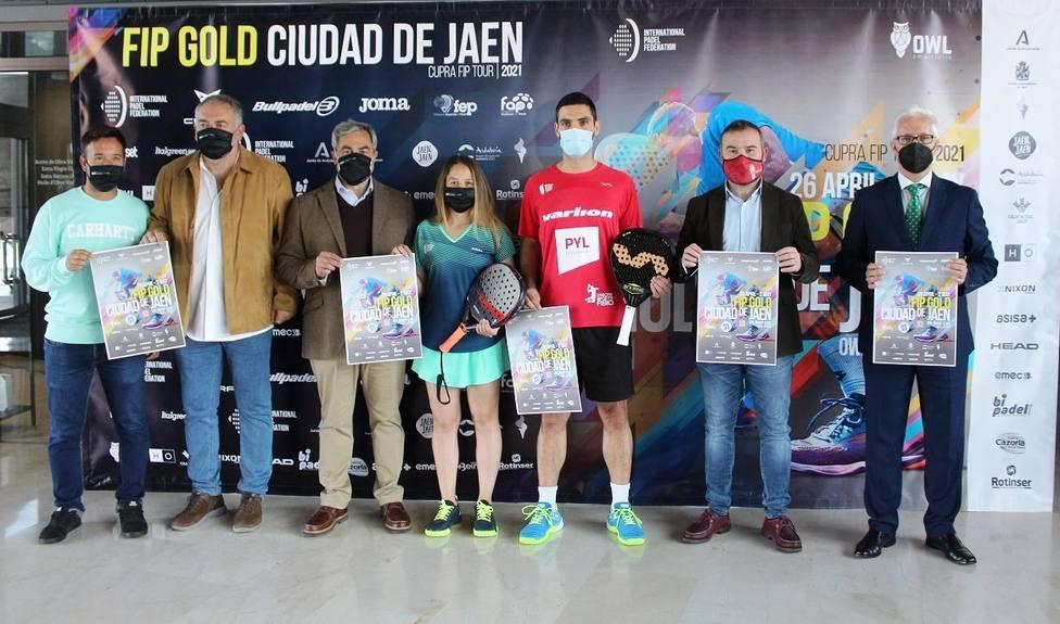 Jaén acoge el primer FIP Gold de la historia, incluido en el circuito Cupra FIP Tour 2021 de pádel