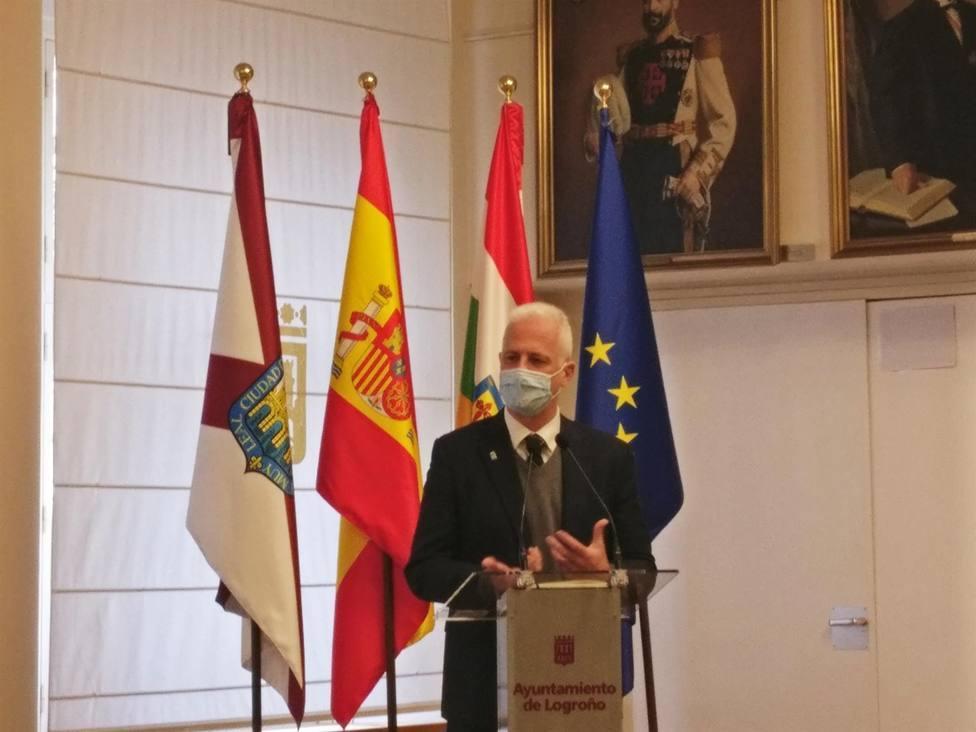 Pablo Hermoso de Mendoza, alcalde de Logroño