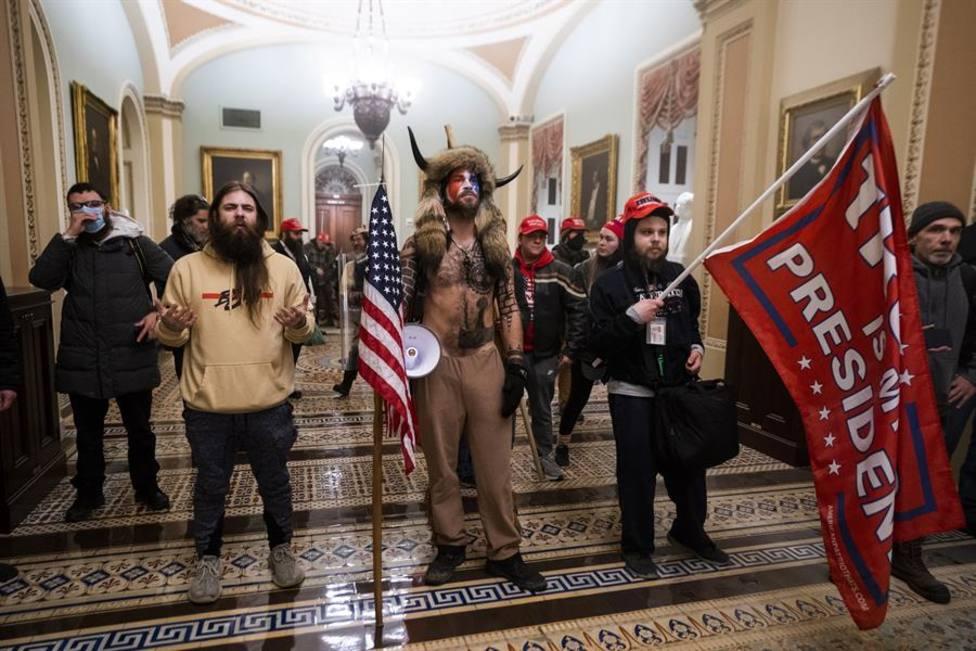 Asalto al Congreso de los Estados Unidos el pasado 6 de enero de 2021