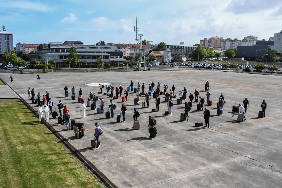 La formación de alumnos en la Antonio de Escaño durará 9 meses. FOTO: Armada