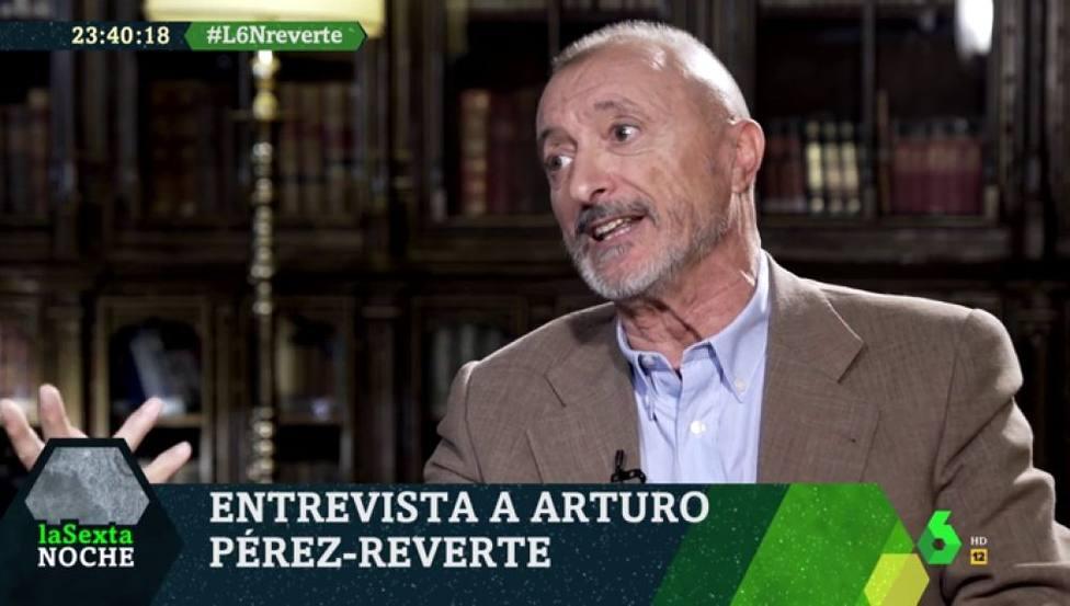 Pérez-Reverte en LaSexta