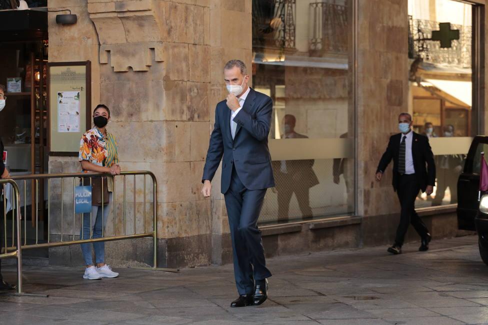 Felipe VI se reúne este lunes con las principales autoridades de Baleares