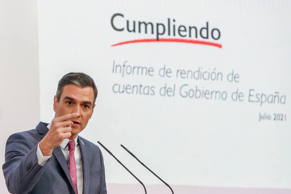 Pedro Sánchez guarda silencio ante la situación de Afganistán mientras sus homólogos europeos dan la cara