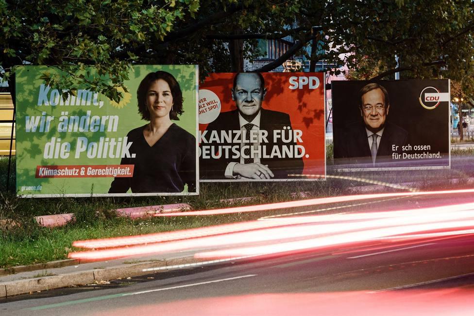 Scholz, Baerbock y Laschet: así son los políticos que pugnan por ser el el sustituto de Merkel