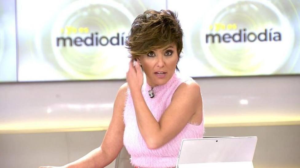 Sonsoles Ónega pone contra las cuerdas en Ya es Mediodía a un colaborador de Mediaset: Ya está bien