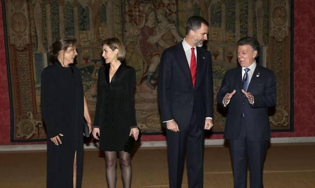 El presidente de Colombia se encuentra de visita en España