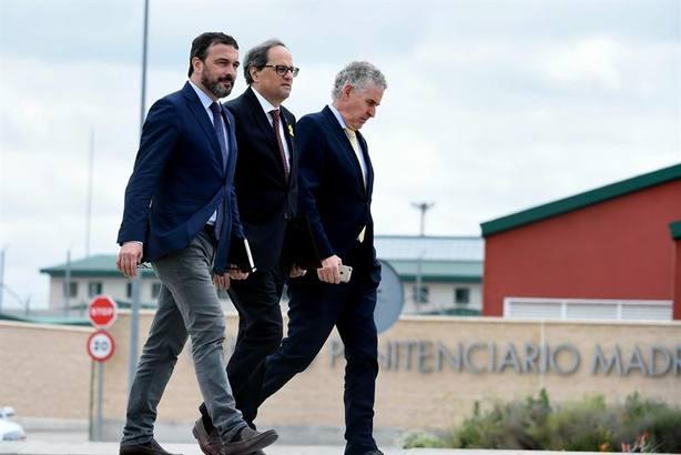 Torra insta a Sánchez a negociar con urgencia de gobierno a gobierno