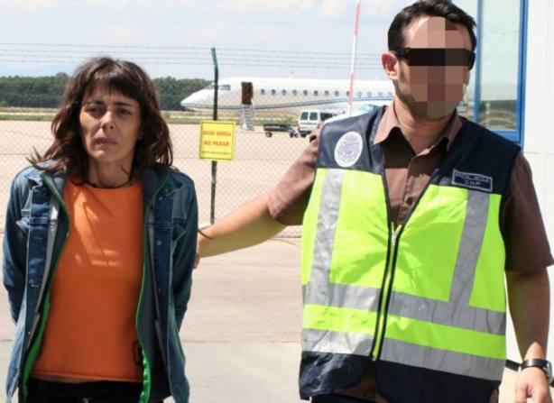 Sale de prisión la etarra Leire Etxeberria tras cumplir 12 años de condena
