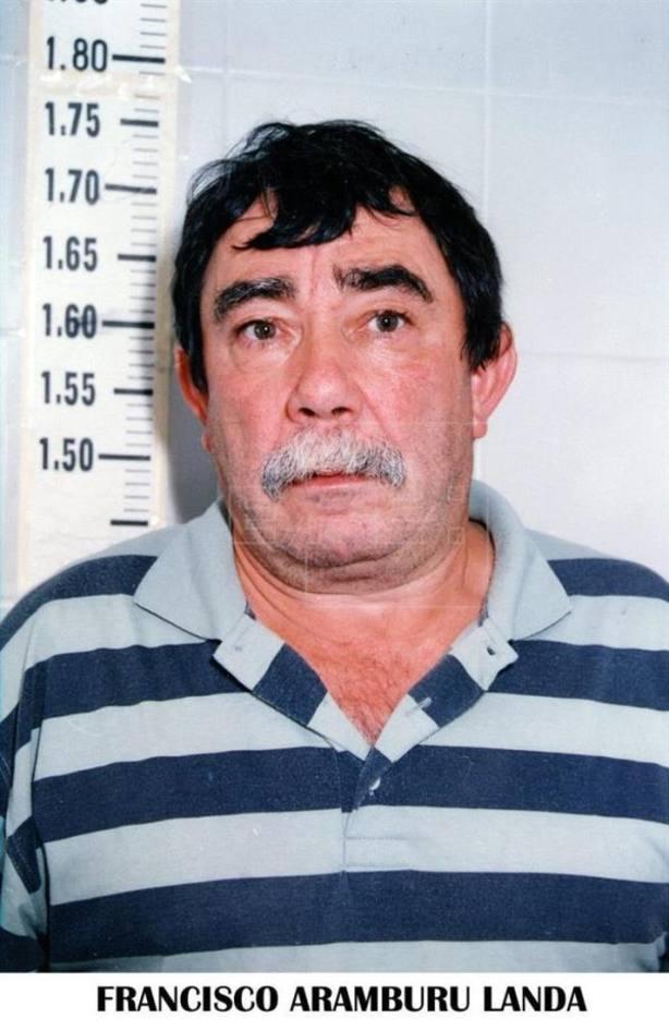 Exconcejal de EH Francisco Aramburu Landa acepta dos años de prisión por haber sido dirigente de Ekin