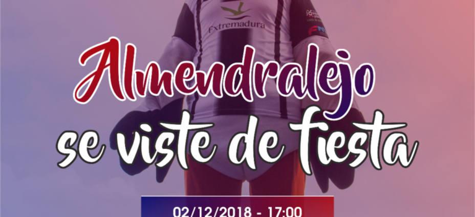 El CD Badajoz – Almería B se jugará en el Francisco de La Hera, el domingo 2 de diciembre a las 17h