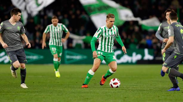 Betis - Real Sociedad, ida de los octavos de final de Copa del Rey (@LaLiga)