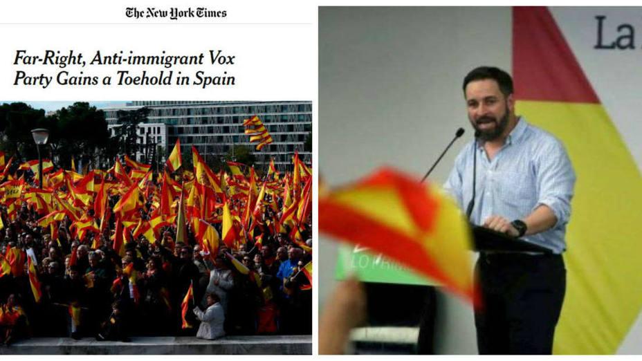 Artículo The New York Times y Santiago Abascal