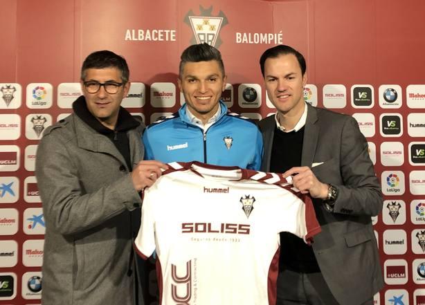 Jugador del Albacete BP, Dani Torres