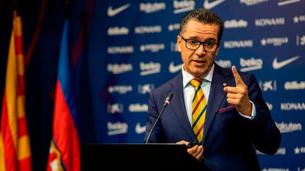 Josep Vives, portavoz del Barcelona (@FCBarcelona_es)