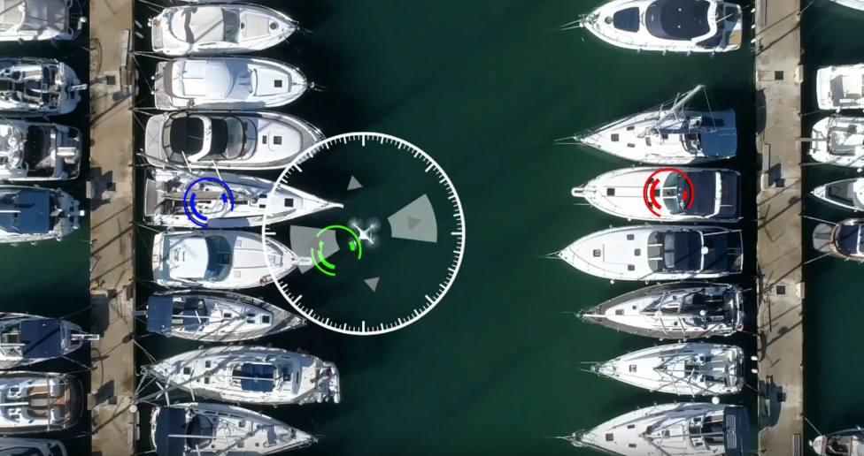 Drones para controlar los puertos