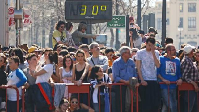 FALLAS TEMPERATURAS
