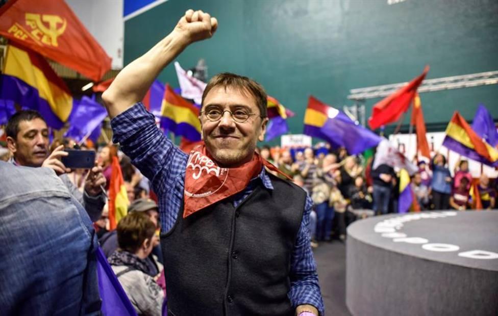 Otro fracaso de Podemos: sólo mil personas defienden la República en Madrid