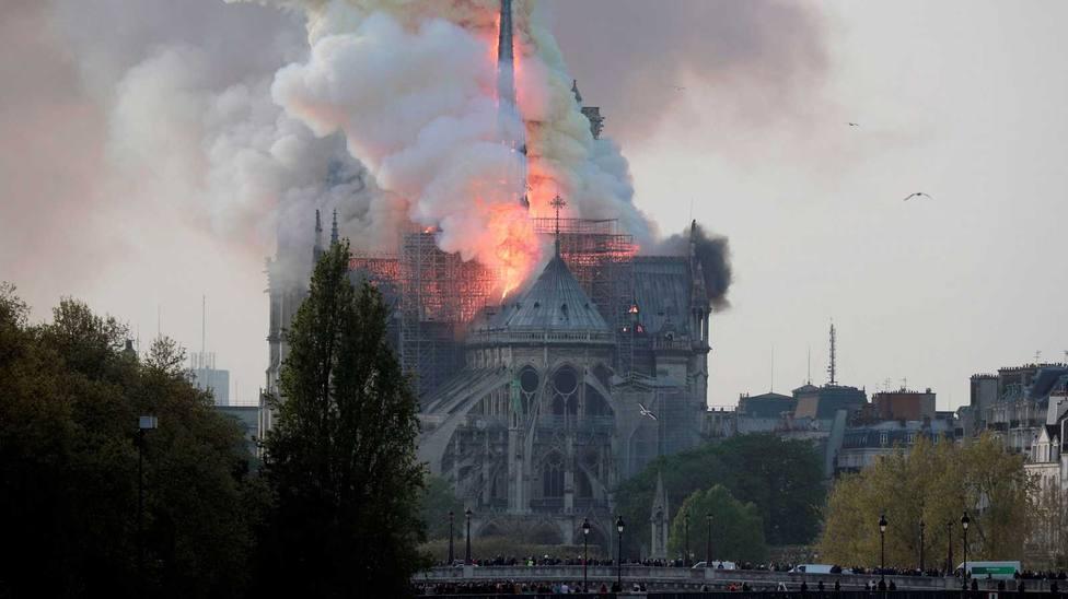 Los daños que ha provocado el incendio de Notre Dame