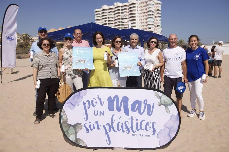 La Fundación Oceanogràfic inicia una campaña de sensibilización sobre las tortugas del Mediterráneo