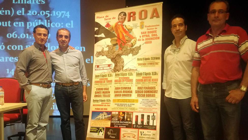 Acto de presentación de los carteles de la feria de Roa de Duero