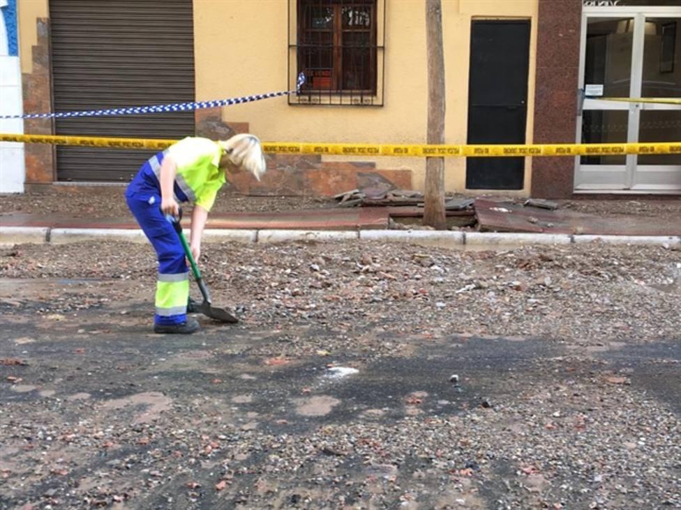 El Ayuntamiento planea un cambio de tuberías en la Calle Vitoria ante la posibilidad de nuevas roturas