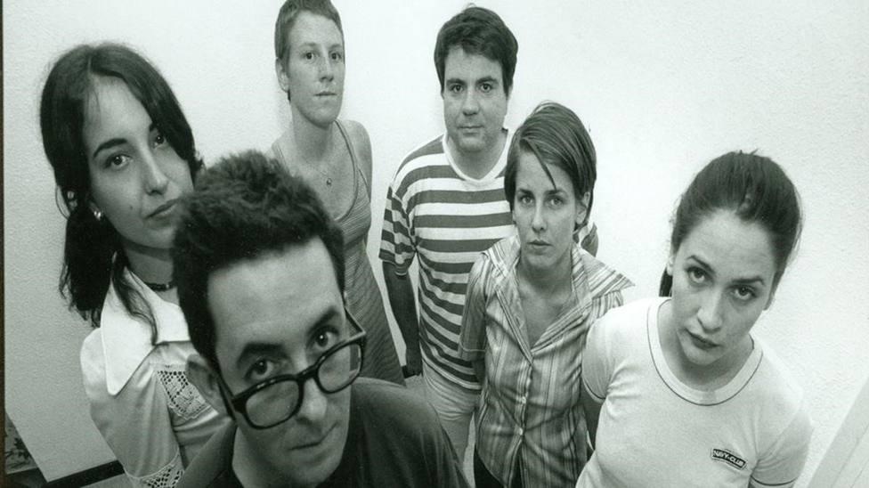 Los Fresones Rebeldes (Inés Bayo, la primera por la derecha)