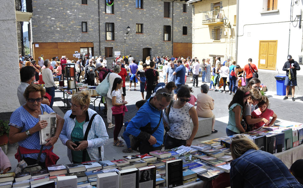 Feria del libro de Villanúa