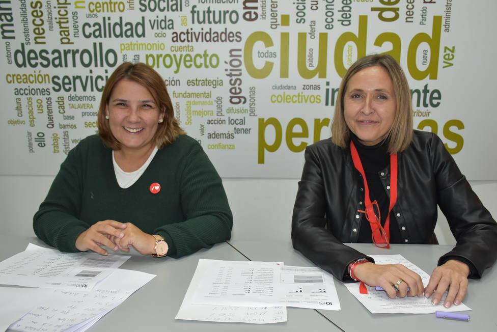 Tita García Élez y Montse Muro