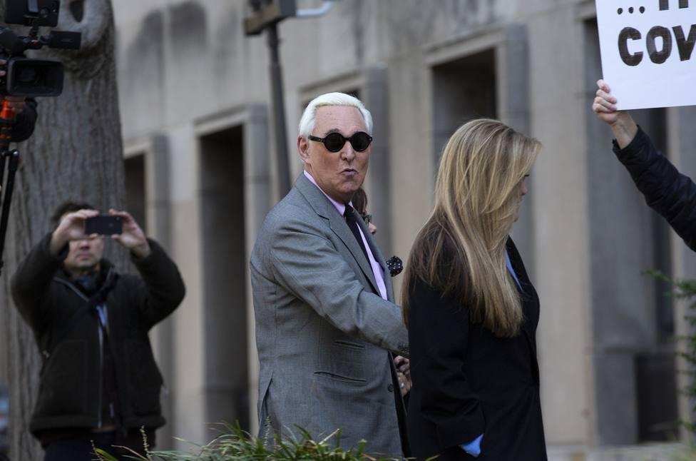 Un jurado declara a Roger Stone, estrecho aliado de Trump, culpable de obstrucción a la justicia y perjurio