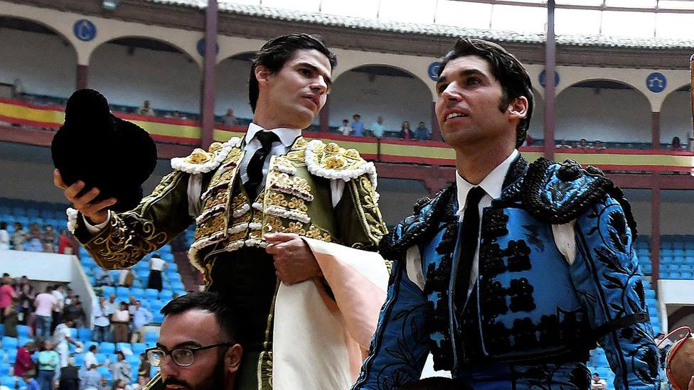 Pablo Aguado y Cayetano, que torean hoy en Lima, comparten a Curro Vázquez como apoderado
