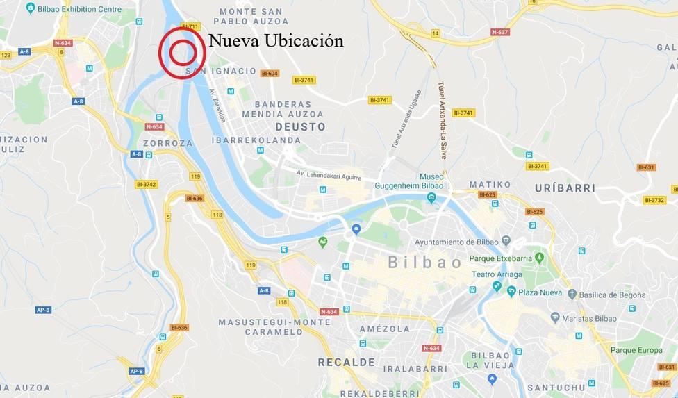 Nueva ubicación del depósito municipal de vehículos