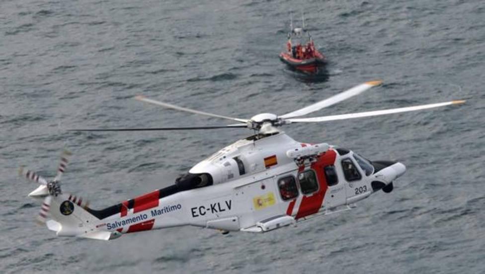 Helicóptero de salvamento