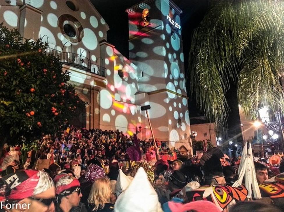 Imagen de la pasada nochevieja en Coín.