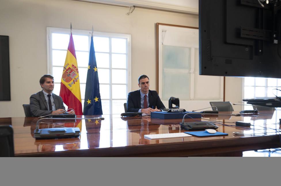 Sánchez pide al G20 concertación económica para calmar los mercados y científica para afrontar la pandemia