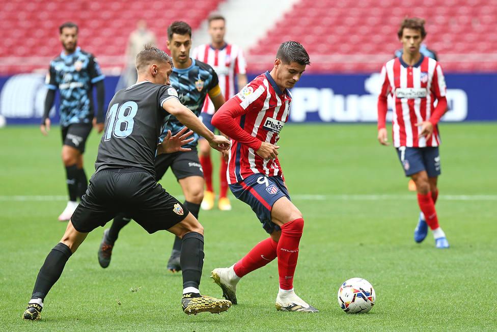 El Atlético goleó 4-1 al Almería en su primer y único partido de pretemporada