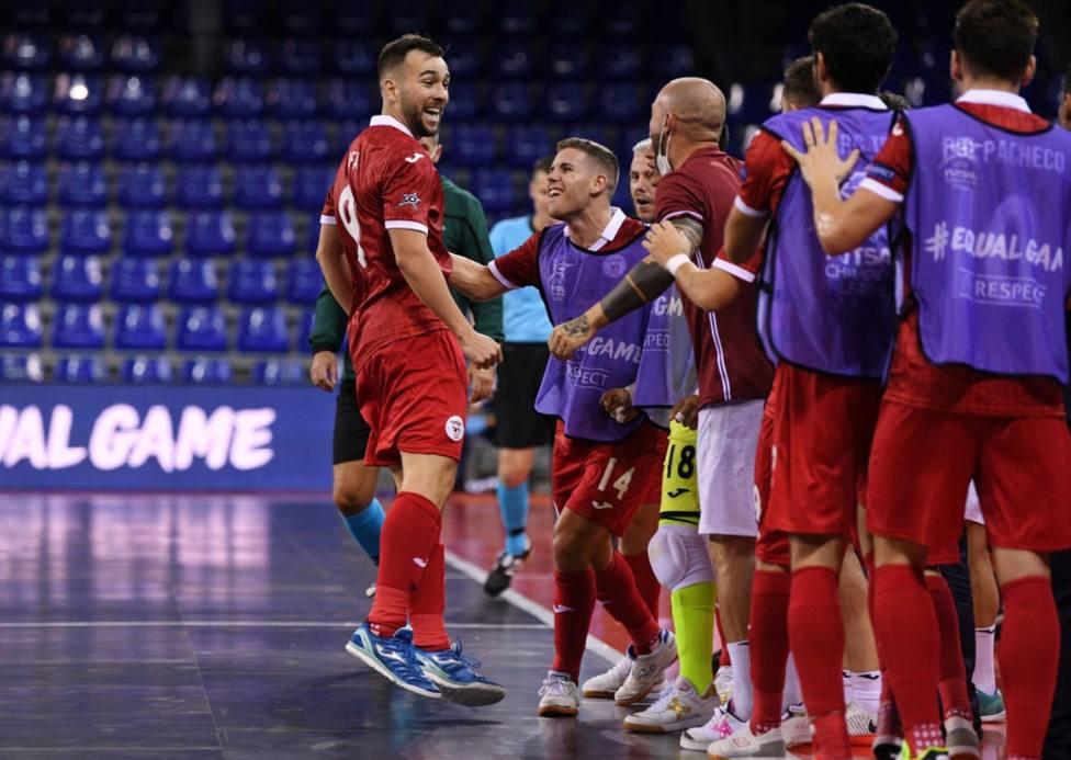 ElPozo Murcia vence al Tyumen y regresa al Olimpo europeo