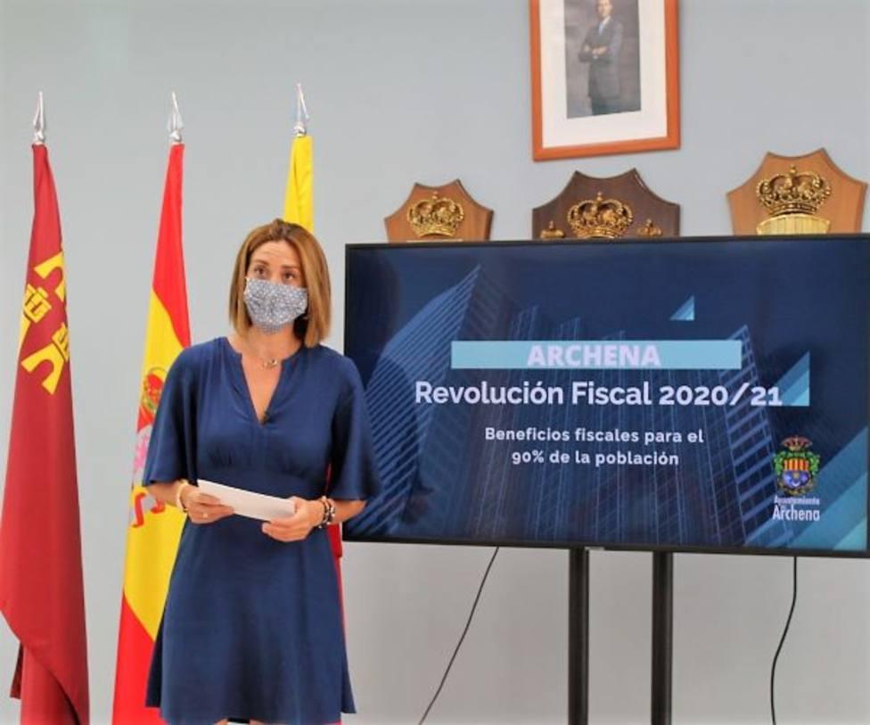 Patricia Fernández, alcaldesa de Archena