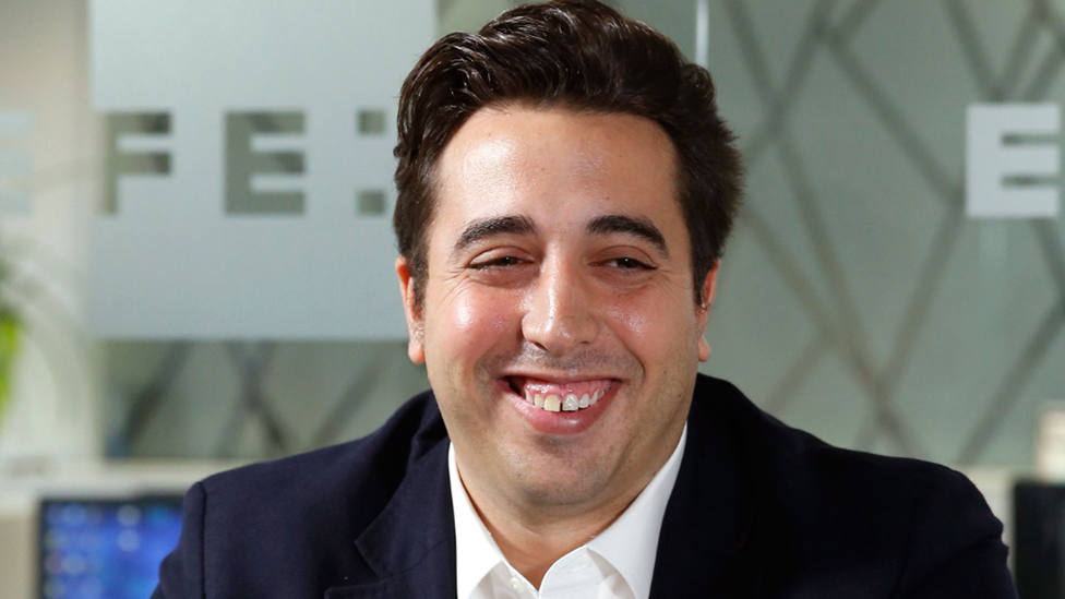 Jonathan Praena, presidente del Fuenlabrada CF. EFE