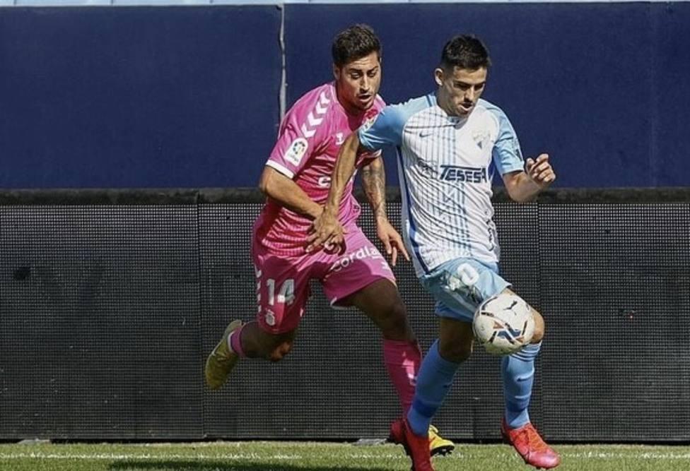 Jairo, que debutó, no tuvo su día, como el Málaga.