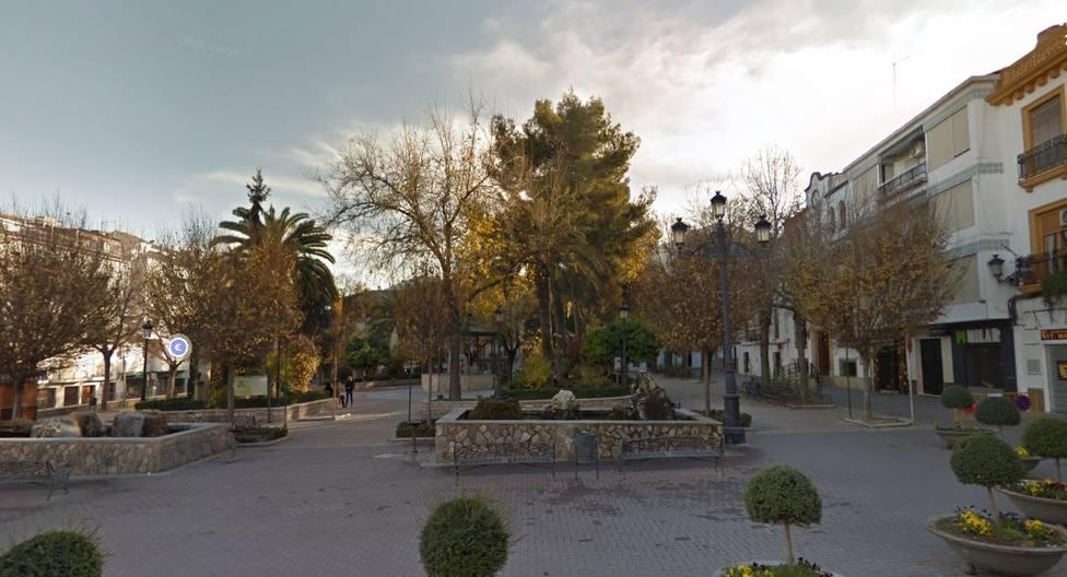 Plaza de la Constitución de Quesada