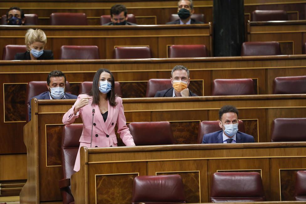 Arrimadas califica como lamentable que Bruselas tenga que sacar los colores a España
