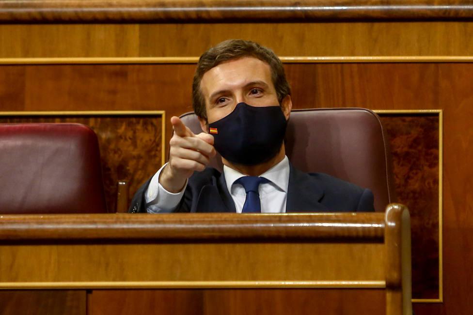Casado recrimina a Sánchez que Bildu sea su socio prioritario: Así no se puede gobernar el país