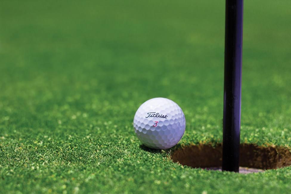 Un monstruo de otra época les deja sin palabras mientras paseaban por un campo de golf