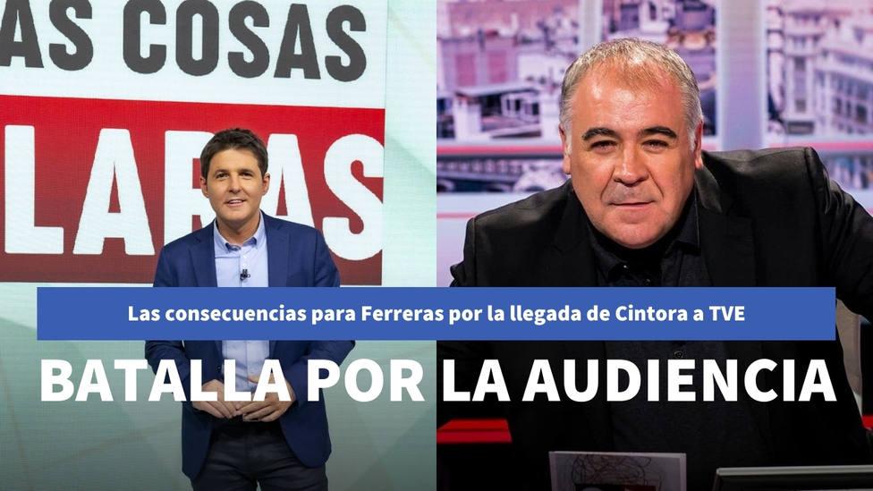 Las dolorosas consecuencias que ha tenido para Ferreras el estreno de CIntora en TVE
