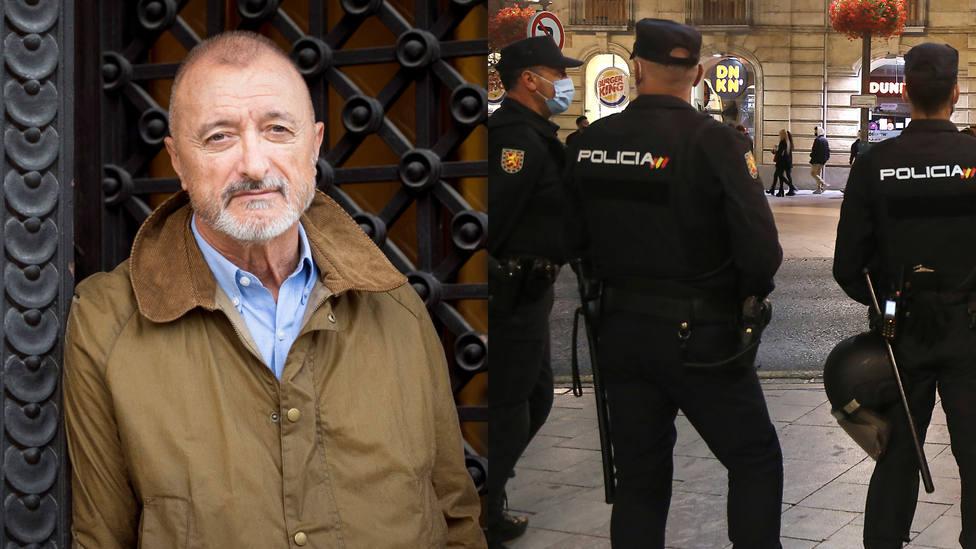 El detalle de la última campaña de la Policía que indigna a Pérez-Reverte: ¿En serio?