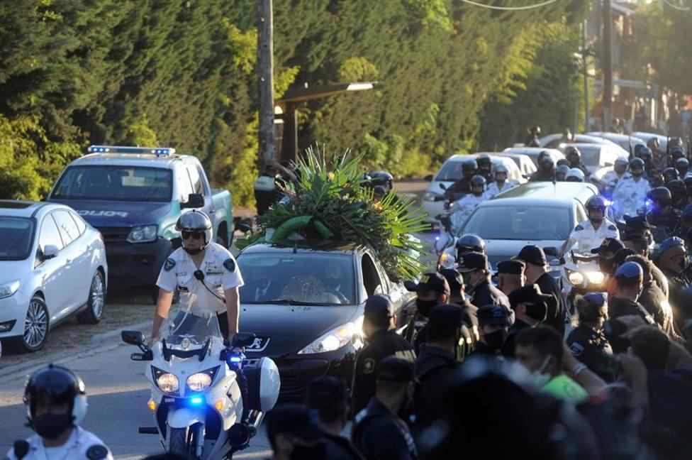 Maradona descansa en paz en Bella Vista tras el caos del velatorio en la Casa Rosada
