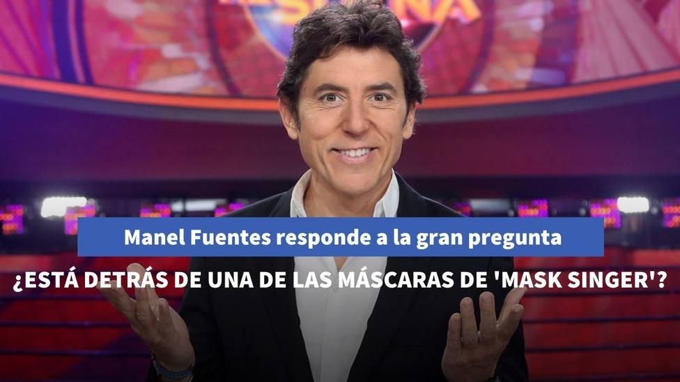 Manel Fuentes responde a si se esconde tras una de las máscaras de Mask Singer