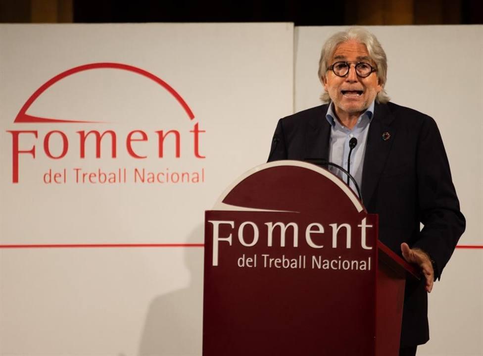 El presidente de Fomento del Trabajo Josep Sánchez Llibre